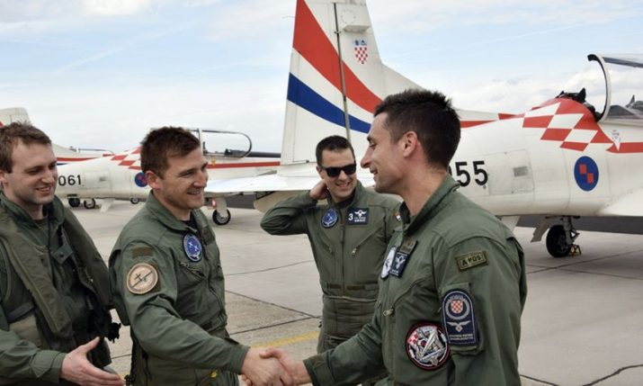 "Australian-Croatian becomes latest member of Croatian Air Force ""Wings of Storm"" display team"