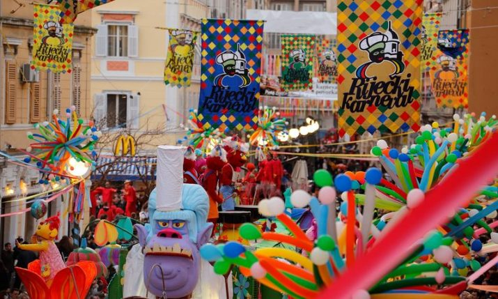 VIDEO: 10,500 parade in Rijeka at Croatia's biggest carnival