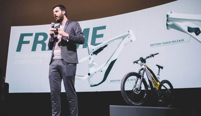 VIDEO: Rimac presents new e-bike – the Greyp G6