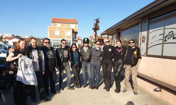 Women Riders World Relay tour arrives in Zadar