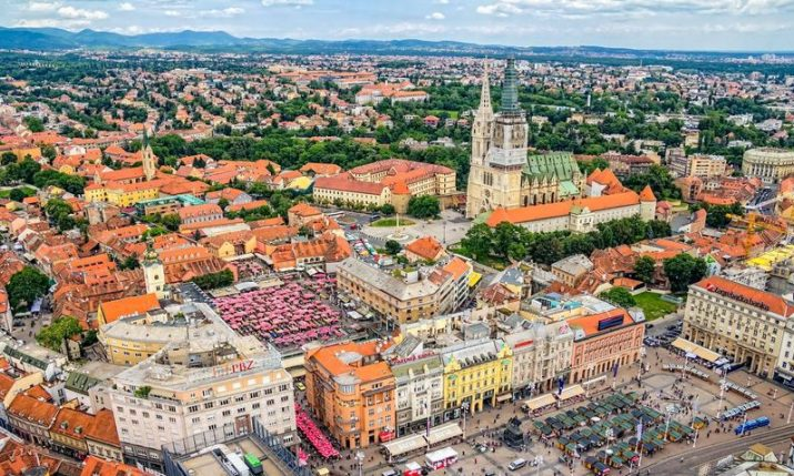 Zagreb 360° observation deck open for free this weekend