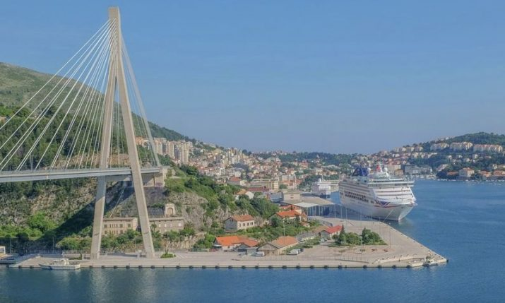 No foreign cruise ships in Croatia's Adriatic since March