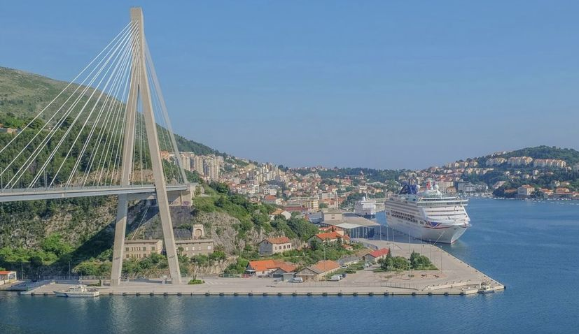 Foreign cruise ships make just 16 trips to Croatia in Jan-July