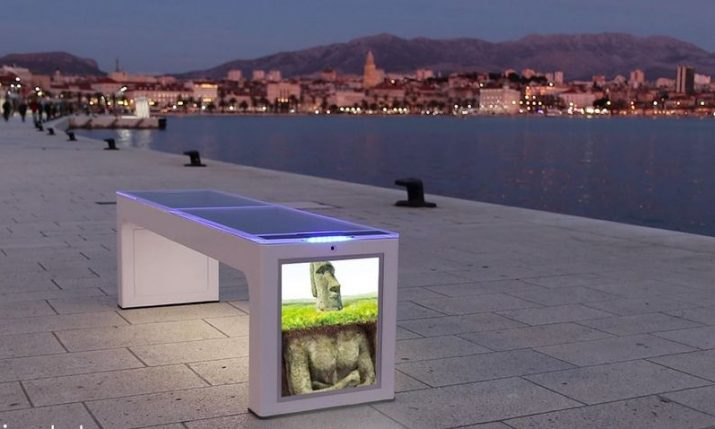 120 Croatian solar-powered smart benches to be placed in France & Slovenia
