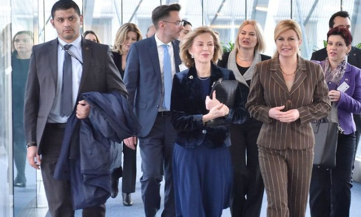 International Women's Day: Croatian president addresses European Parliament