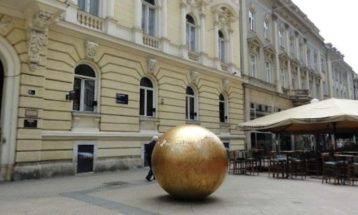Discover Zagreb's unique grounded solar system