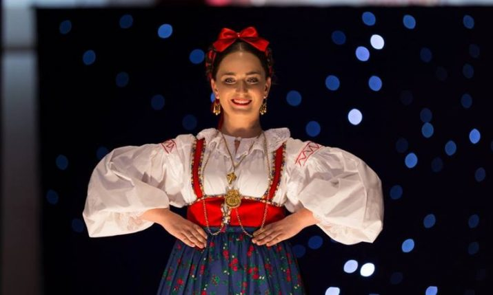 Most beautiful Croatian in national costume outside Croatia 2019