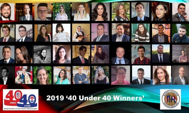 Meet the 2019 'Top 40 Rising Croatian American Stars Under 40′