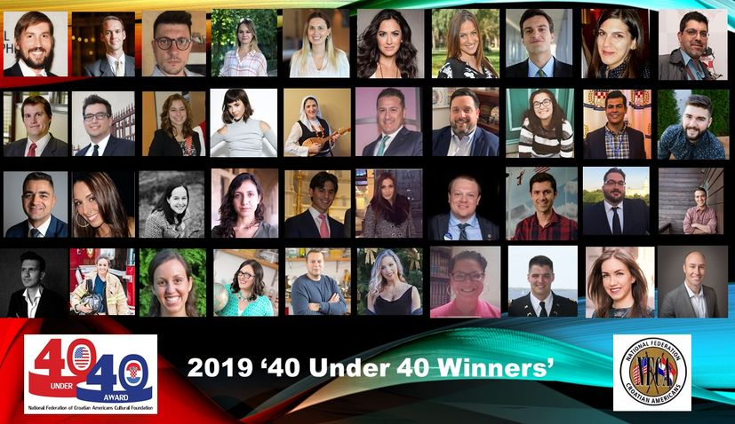 Meet the 2019 'Top 40 Rising Croatian American Stars Under 40′