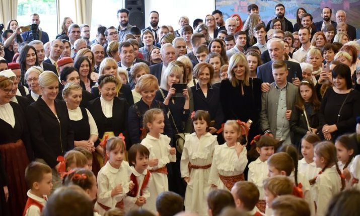 'Croatian – My Language' – President receives Croatian language learners in Zagreb