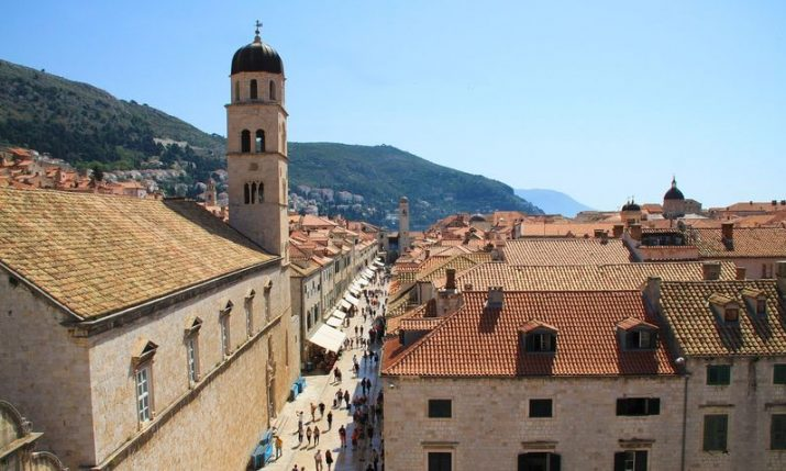 Holy Mass in English on Sundays during tourist season in Dubrovnik