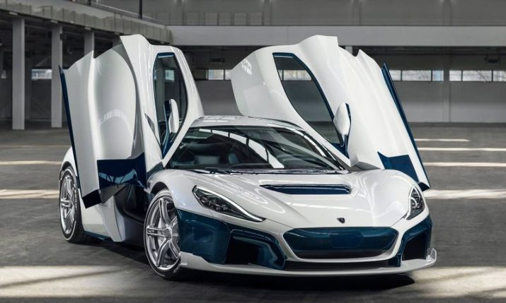 Former Formula One World Champion buys Rimac's C_Two hypercar
