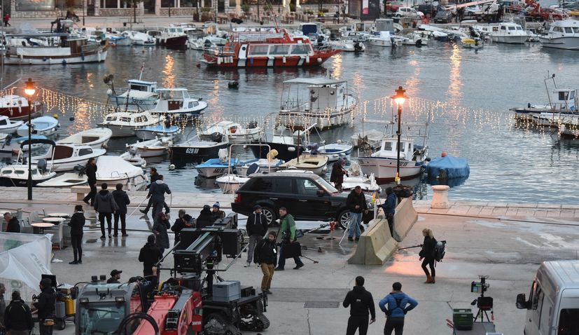 PHOTO: The Hitman's Wife's Bodyguard starts shooting in Croatia