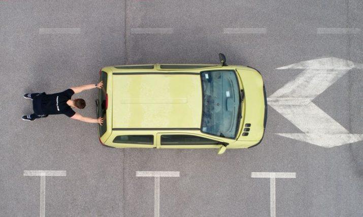 Croat set to break car-pushing Guinness World Record