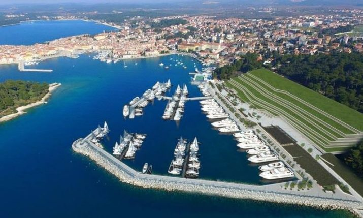 Most luxurious marina in Croatia opens in Rovinj