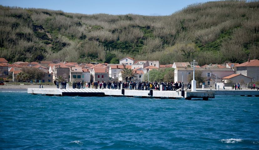 New seafront on island of Susak opens
