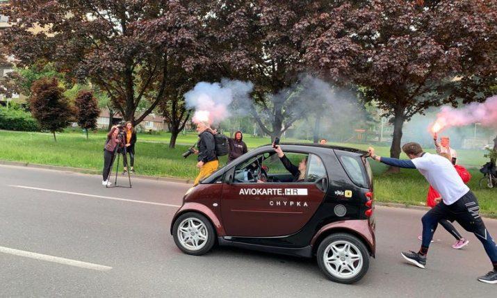 Tomislav Lubenjak sets new Guinness World Record in Zagreb