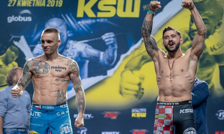 Top Croatian MMA fighters in action at KSW 48 tonight