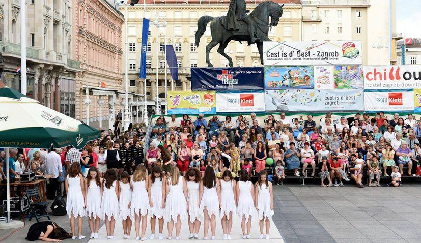 Cest is d'Best International Street Festival in Zagreb in May