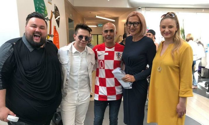 Croatian Eurovision contestant opens Croatia Days in Tel Aviv
