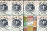 Special stamp marks quarter of a century of the Croatian kuna