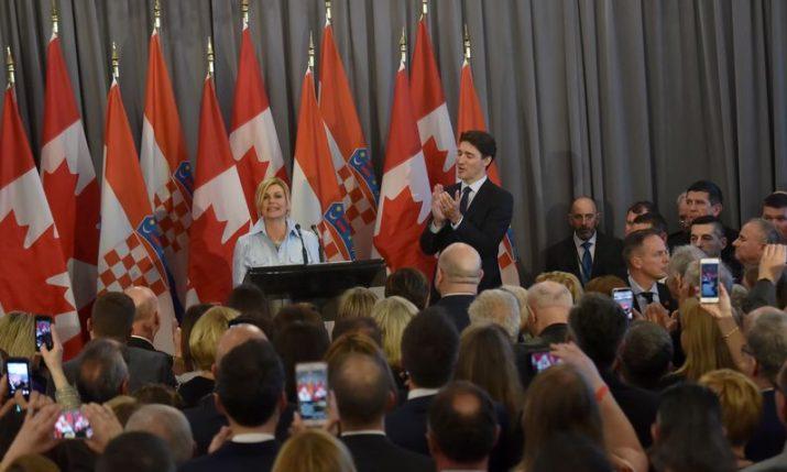 Charters of Croatia presented in Hamilton, Canada