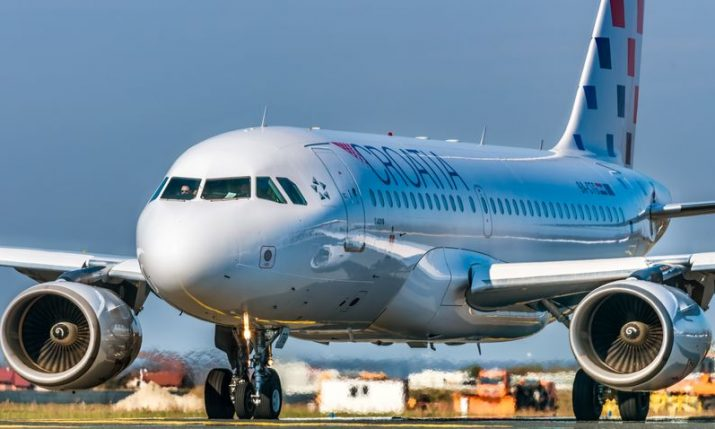 Croatia Airlines pulls 10 international flights from Zagreb from sale