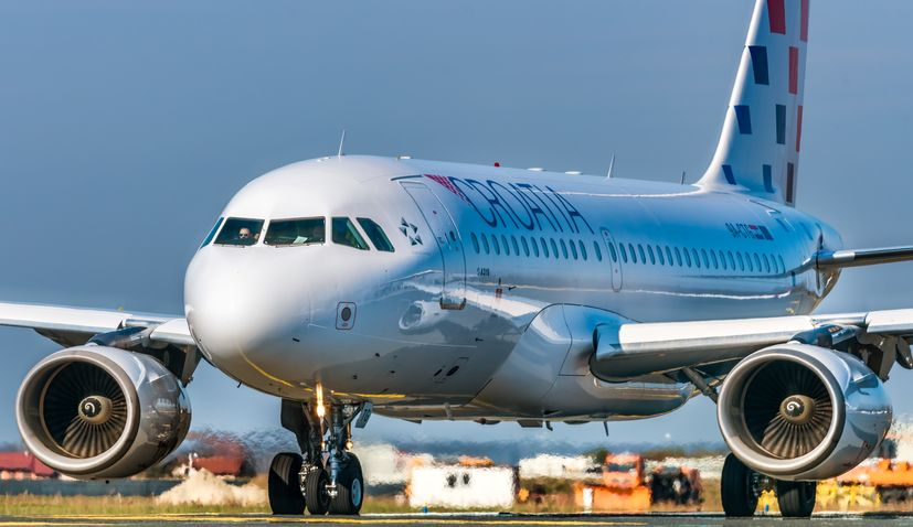 Croatia Airlines returning Zagreb-Dublin route