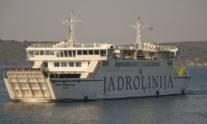 Jadrolinija introduce reservation service on two new ferry lines