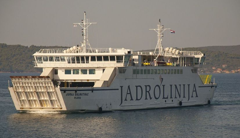 Jadrolinija introduce reservation service on two new ferry lines
