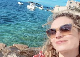 PHOTOS: Mamma Mia 2 star back on the island of Vis