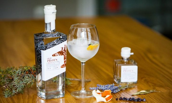 Croatian Old Pilot's Gin wins best in world award