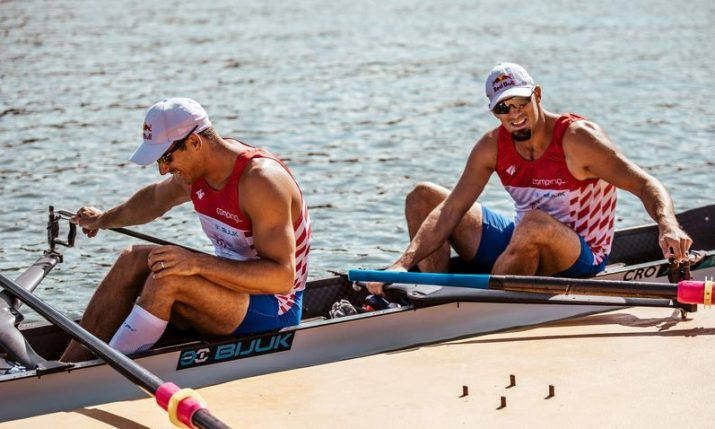 Martin & Valent Sinković win gold at World Rowing Championships