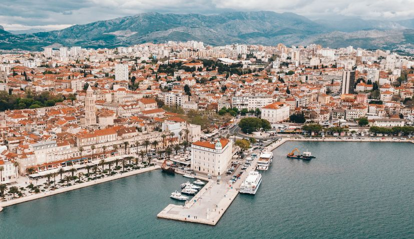 Tourist arrivals in Split up 20% in January
