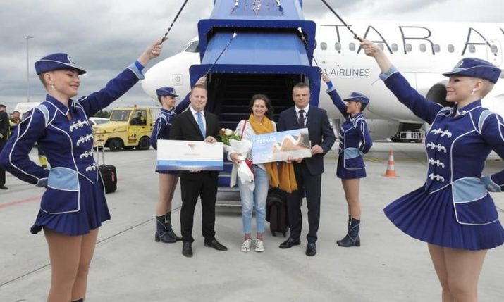 Zagreb Airport welcomes one millionth passenger in record time