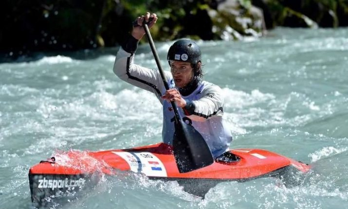 Croatian canoeist Emil Milihram becomes European champion for 6th time