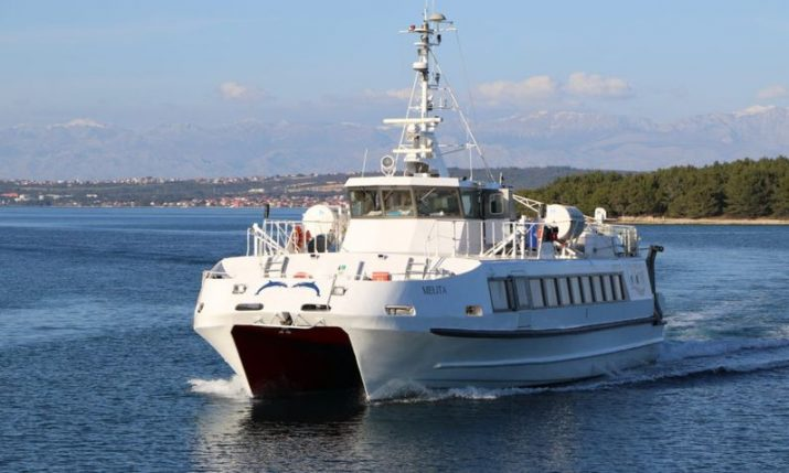 New fast ferry connecting Rijeka, Krk, Rab, Pag & Zadar commencing on 15 June