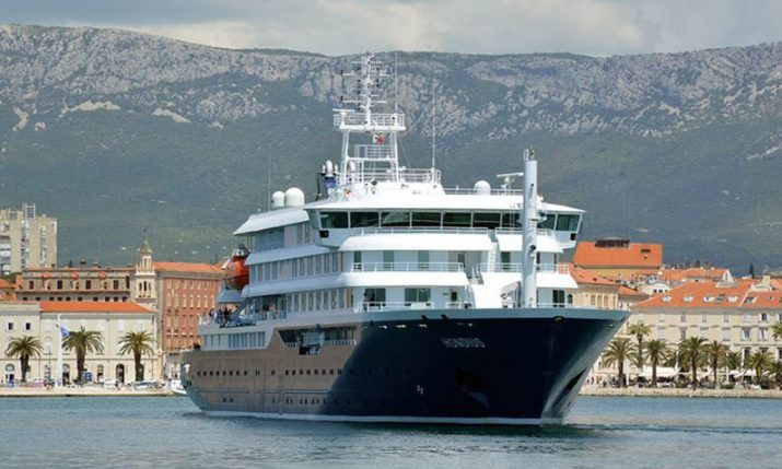 VIDEO: Brodosplit hands over world's first LR Polar Class 6 cruise ship