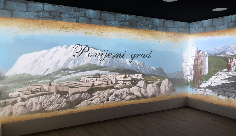 History of Klis being told through 3D holograms