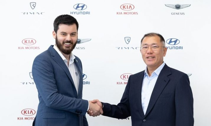 Hyundai & Kia Motors invest €80 million in Rimac