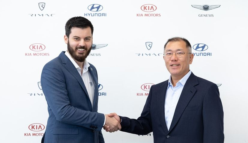 Hyundai & Kia Motors invest €80 million in Rimac