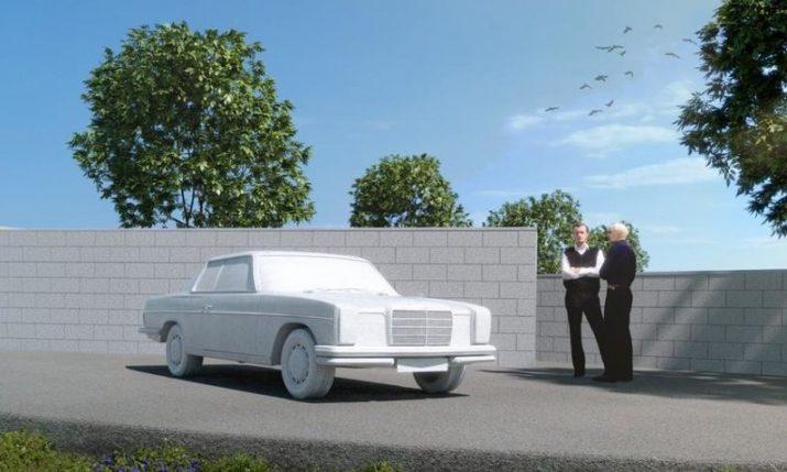 PHOTOS: Imotski Mercedes monument plans presented