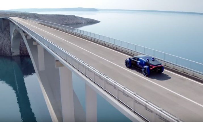 VIDEO: Ad for Citroën's new electric car filmed on Pag