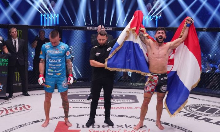 VIDEO: Croatia's Filip Pejic scores big win at KSW 48