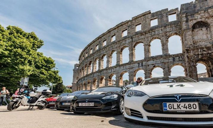 Nikola Tesla electric car rally Croatia set to start