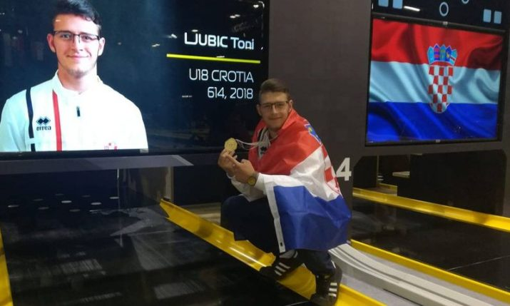 Croatian teen Toni Ljubić crowned world bowling champion