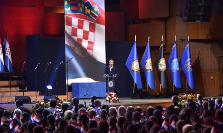 28th anniversary of the creation of the Croatian Armed Forces marked