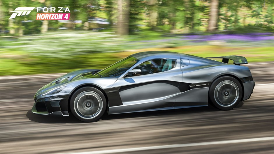 Rimac C_Two star of Microsoft racing video game | Croatia Week