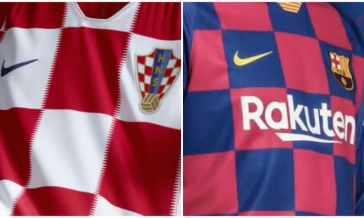Barcelona unveil new 'Croatian style' kit for 2019/20 season