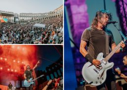 PHOTOS: Foo Fighters entertain fans at Pula Arena tonight